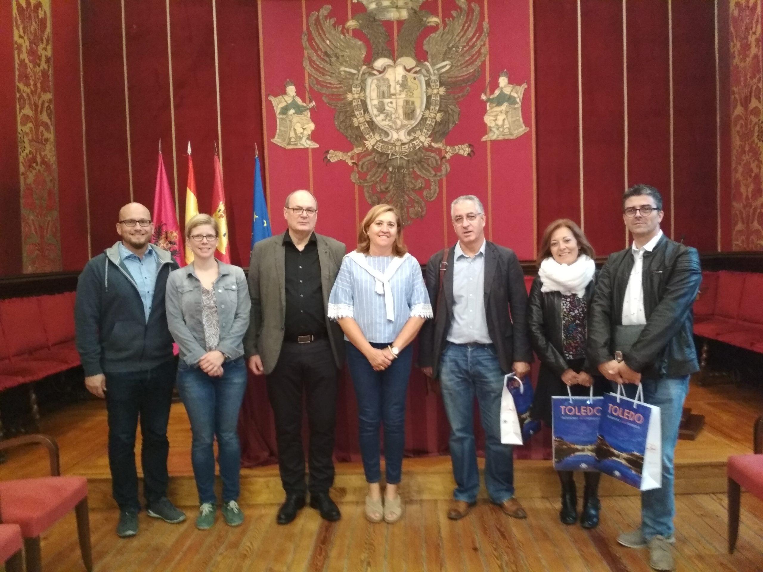 DEFRESBURG en el ayuntamiento de Toledo
